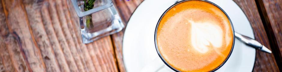"""Kaffee trinken im """"Smedeberger"""""""